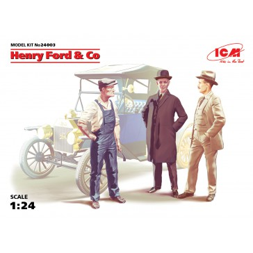 Henry Ford & Co (3 Fig) 1/24