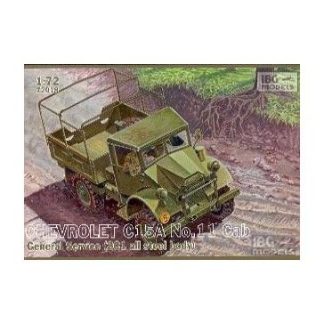 Chev.C15A N°11 Gen.Service 1/72