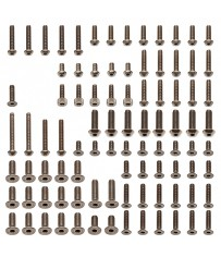 RC8B3/3.1 UPPER TITANIUM SCREW SET