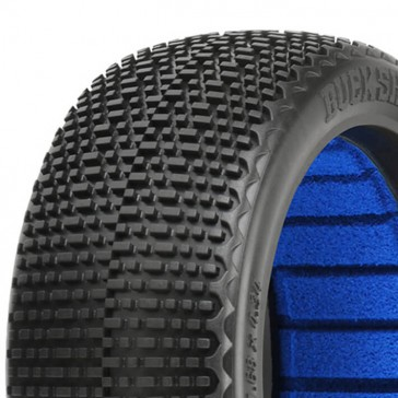 BUCK SHOT' S4 S/SOFT 1/8 BUGGY TYRES W/CLOSED CELL