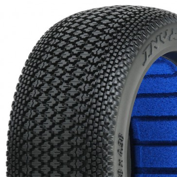 INVADER' S2 MEDIUM 1/8 BUGGY TYRES W/CLOSED CELL
