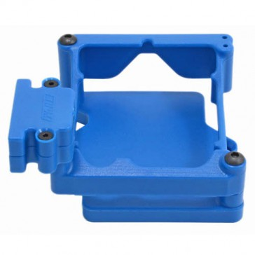 BLUE ESC CAGE FOR CASTLE SIDEWINDER 4 ESC