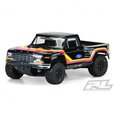 1979 FORD F-150 RACE CLEAR BODY FOR SLASH/SC10