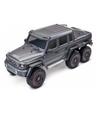 TRX-6 Mercedes-Benz G 63 AMG Body 6X6 Electric Trail Truck Silver