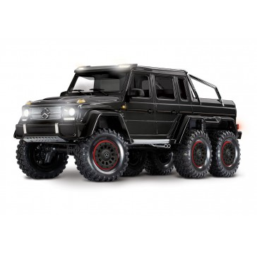TRX-6 Mercedes-Benz G 63 AMG Body 6X6 Electric Trail Truck Black