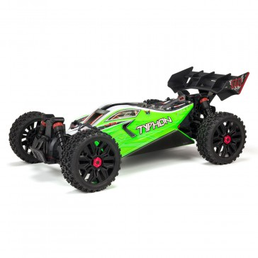 1/8 TYPHON MEGA 550 Brushed 4WD Speed Buggy RTR Int, Green