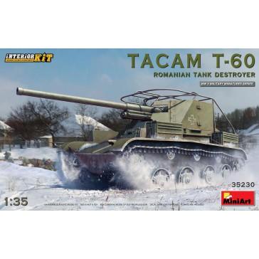 Tacam T-60 Romanian Tank Dest.  1/35