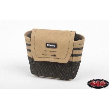 Mountable Trash Bag for Spare Tire (Tan)