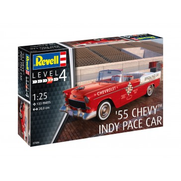 Model Set '55 Chevy Indy Pace Ca 1:25