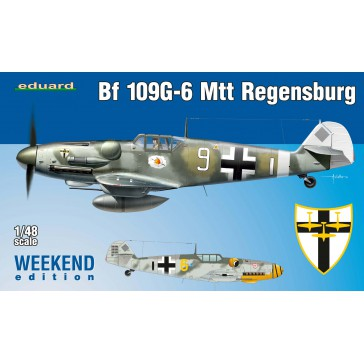 Bf 109G-6 MTT Regensburg Weekend Edition  - 1:48