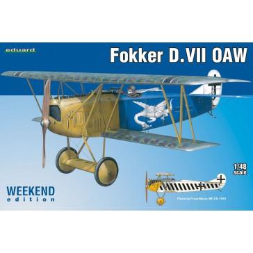 Fokker D.VII OAW  Weekend edition  - 1:48