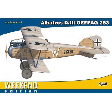 Albatros D.III OEFFAG 253 Weekend  - 1:48