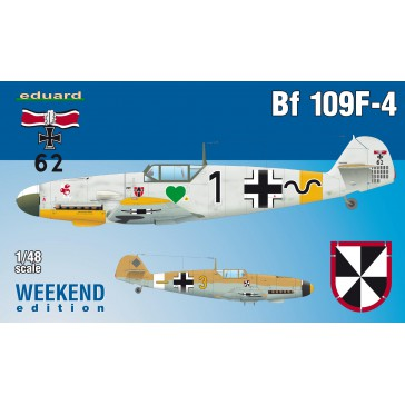 Bf 109F-4  Weekend Edition  - 1:48
