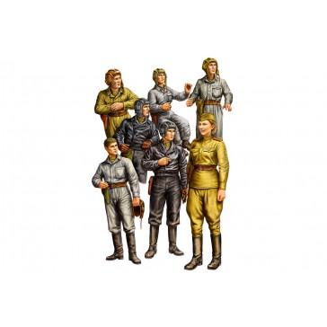 Russian Tank Crew 1/35