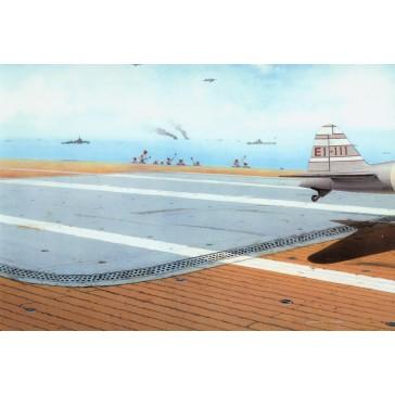 Japan Navy aircraft carrier deck  - 1:48
