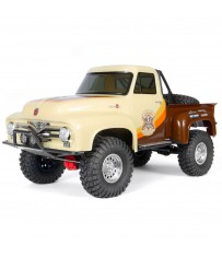 1/10 SCX10 II 1955 Ford F-100 Truck 4WD RTR, Brown