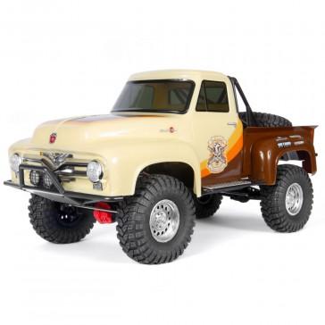 1/10 SCX10 II 1955 Ford F-100 Truck 4WD RTR, Brown