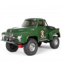 1/10 SCX10 II 1955 Ford F-100 Truck 4WD RTR, Green