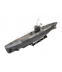 Sous-marin allemand Type IX C U6 1:72