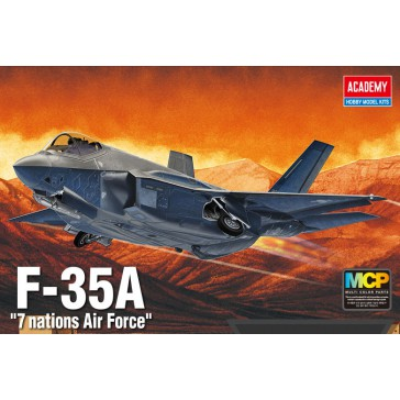 F35A Seven Nation Air Force  1/72