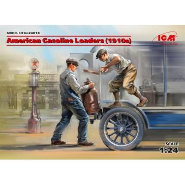 Amercian Gasoline Loaders (1910s) 1/24