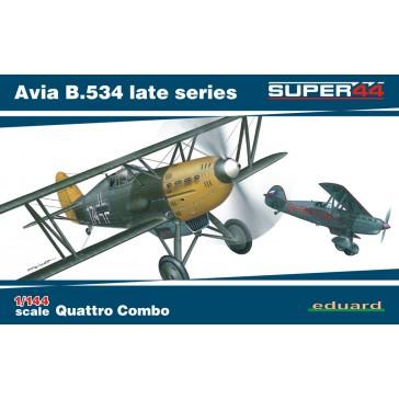 Avia B.534 late series Quattro Combo Super44 - 1:144