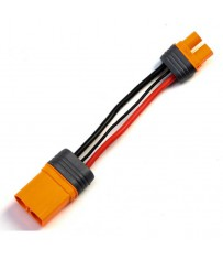 "Adapter: IC3 Battery / IC5 Device, 4""/100mm Wire 10 AWG"