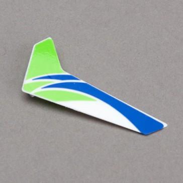 DISC.. DISC.. mCP X - Dérive verticale verte avec sticker
