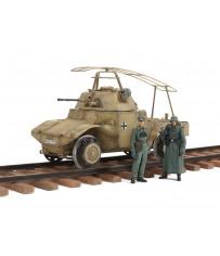 German Armored Railway Vehicle P204 (f) 1/35