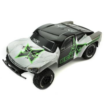 DISC.. PROMO : Car Torment 1/10 2wd SCT (black/green) RTR kit