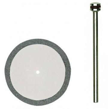 Doorslijpschijf gediamanteerd Ø 38 mm + houder