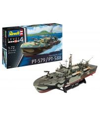 Patrol Torpedo Boat PT-588/PT-57 1:72