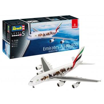 """Airbus A380-800 Emirates """"Wild L 1:144"""