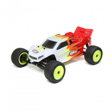 Mini-T 2.0 RTR, Red/White: 1/18 2wd