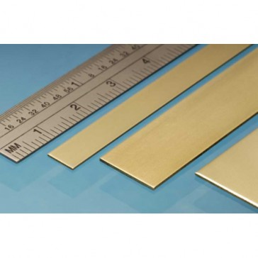 Brass Strip 12 x 0.8 mm (3p.)