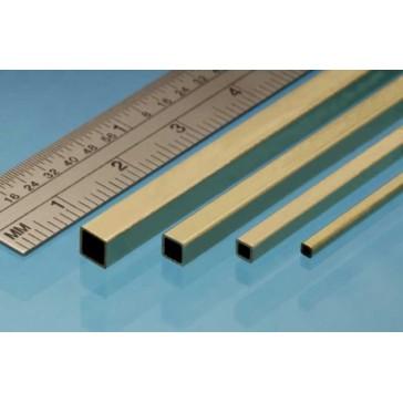 Square Brass Rod 2   x 2   mm (2p.)
