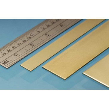 Brass Strip 25 x 0.8 mm (3p.)