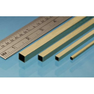 Square Brass Tube 3.2  mm (3p.)