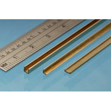 Brass Angle 1 x 1 mm (1p.)
