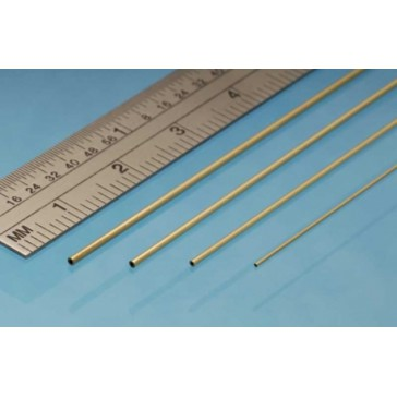 Brass Micro Tube 0.7 x 0.5 mm (3p.)