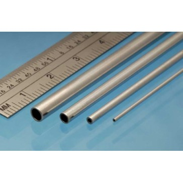 Aluminium Tube 4 x 0.45 mm (3p.)