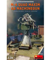 M-4 Quad Maxim A4 Machinegun 1/35