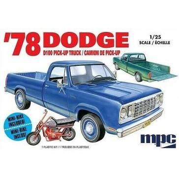 Dodge D100 Custom Pickup 1978 1/25