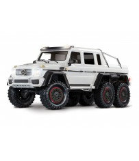 TRX-6 Mercedes-Benz G 63 AMG Body 6X6 Electric Trail Truck White
