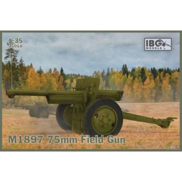 M1897 75mm Field Gun US Serv.  1/35