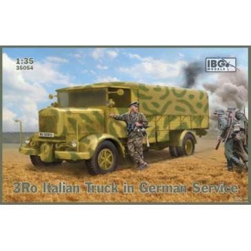 3Ro Italian Truck in Germ.Serv.1/35
