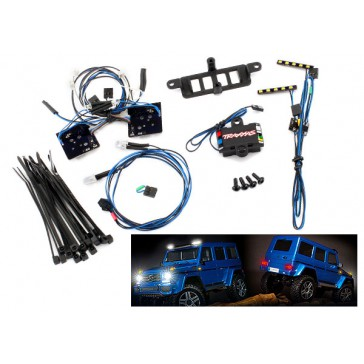 LED light set (contains headlights, taill lights, roof lights, and di