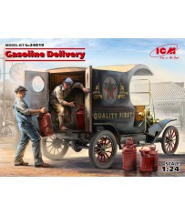 Gasoline Car Model T & Loaders 1/24