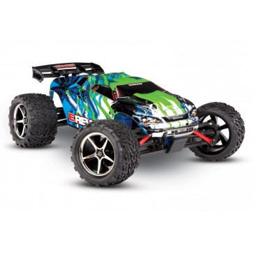 E-Revo 1/16 4x4 Brushed TQ (incl battery/charger), Green