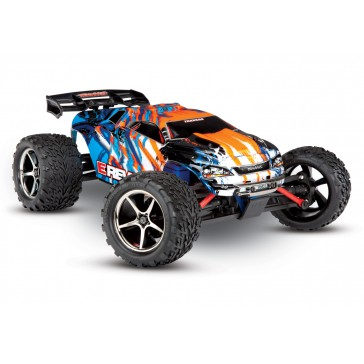 E-Revo 1/16 4x4 Brushed TQ (incl battery/charger), Orange